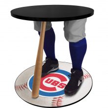 Chic Cubs Baseball Table