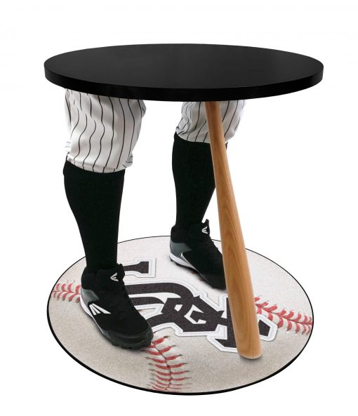 Chic White Sox Baseball Table
