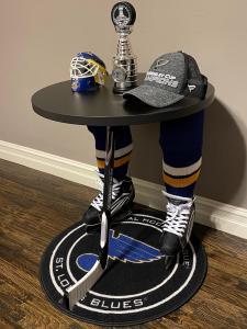 St Blues Fan Table